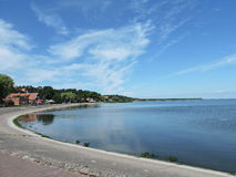 Nida City  , Lithuania Stock Photos