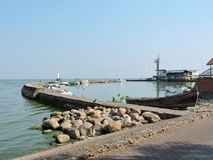 Nida Marina, Lithuania Stock Image