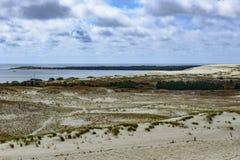 Nida, penisola di neringa, Lituania, Europa Fotografia Stock