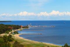 Nida port, Lithuania. Stock Photo