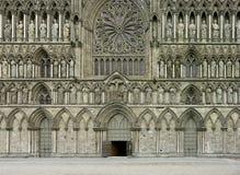 Nidaros Cathedral royalty free stock photo