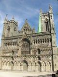Nidaros Cathedral Stock Image