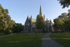 Nidaros Cathedral Saint Olav, Trondheim Royalty Free Stock Photos
