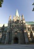 Nidaros Cathedral Saint Olav, Trondheim Royalty Free Stock Image