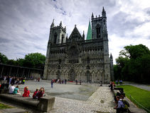 Nidaros Cathedral Stock Photos
