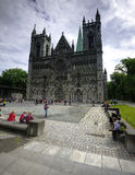 Nidaros Cathedral Royalty Free Stock Image