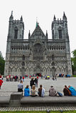 Nidaros Cathedral Trondheim Royalty Free Stock Images