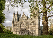 Nidaros Cathedral in Trondheim Royalty Free Stock Photos