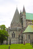 The Nidaros Cathedral in Trondheim Royalty Free Stock Image