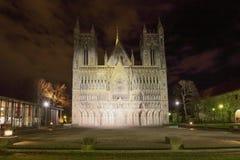 Nidaros Cathedral in Trondheim Stock Images