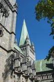 Nidaros Cathedral Trondheim Stock Photos