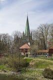 Nidaros Cathedral in Trondheim Stock Image