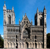 Nidaros Cathedral Royalty Free Stock Images