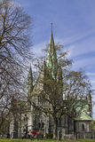 Nidaros church in Trondheim Stock Image