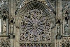 Nidarosdomen-Kathedrale in Trondheim, Norwegen Stockfotografie