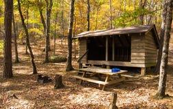 Niday schronienie na Appalachian śladzie Zdjęcia Royalty Free