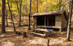 Niday Shelter on the Appalachian Trail Royalty Free Stock Photos