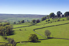 Nidderdale Church. View across Nidderdale valley in the Yorkshire Dales England Royalty Free Stock Image