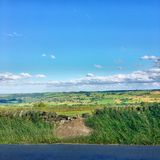 Nidderdale. Long view over Nidderdale Royalty Free Stock Photography