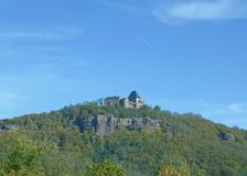Nideggen,Eifel,North Rhine Westfalia,Germany Stock Image