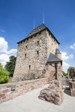 Nideggen slotttorn i Tyskland, ledare royaltyfri foto