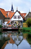 niderlandy volendam zdjęcie royalty free