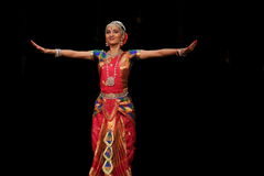 Nidhi Ravishankar - Bharatanatyam Royalty Free Stock Photos