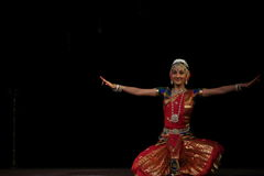 Nidhi Ravishankar - Bharatanatyam Royalty Free Stock Photo