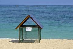 Nido della tartaruga in spiaggia di Geger nel DUA di Nusa, Bali Immagine Stock