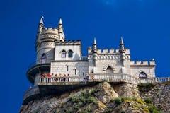 Nido dello Swallow vicino a Yalta Immagini Stock Libere da Diritti