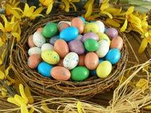 Nido di Pasqua Immagine Stock