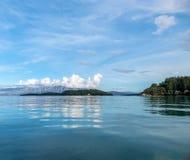 Nidri auf Lefkada-Insel stockbilder