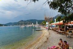 Nidri Beach, Lefkada Greek Island Royalty Free Stock Image