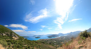Nidri on Lefkas island Greece Stock Photo