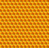 Nids d'abeilles de vecteur Photos libres de droits