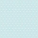 Nids d'abeilles sans couture d'abrégé sur modèle bleus et blancs illustration libre de droits