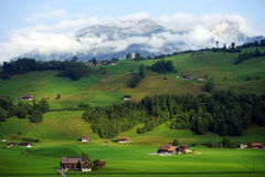 Nidwalden valley Royalty Free Stock Photography