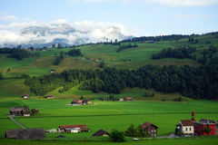 Nidwalden valley Stock Image