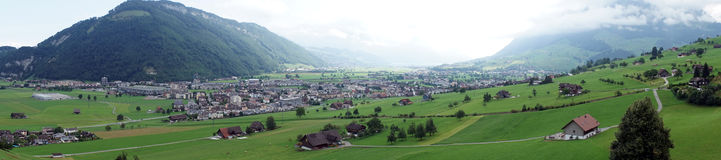 Nidwalden valley Royalty Free Stock Images
