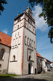 Nidzica church of the Immaculate Conception Royalty Free Stock Image