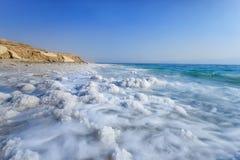 Nieżywy morze, Ein Bokek, Izrael zdjęcie royalty free