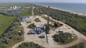 Nieść out naprawę szyb naftowy Fotografia Stock