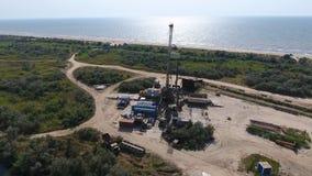 Nieść out naprawę szyb naftowy Zdjęcia Royalty Free