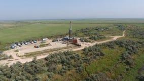 Nieść out naprawę szyb naftowy Obrazy Stock