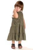 Nieśmiała dziewczyna Zdjęcia Stock