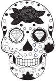 nieżywa dzień czaszka Fotografia Royalty Free