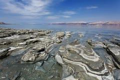 Nieżywego morza błoto Fotografia Royalty Free