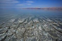 Nieżywego morza błoto Obrazy Royalty Free