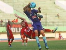 Nieżywy futbolista - Diego mendieta obraz stock