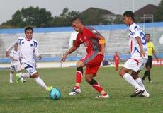 Nieżywy futbolista - Diego mendieta fotografia stock